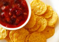 Sweet & Spicy Cranberry Tomato Salsa