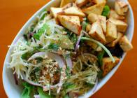 Vietnamese Salad with Grilled Tofu