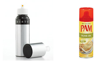 Misto Oil Sprayer and PAM Non-stick Spray
